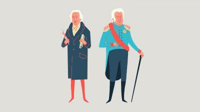 Goethe & Carl August